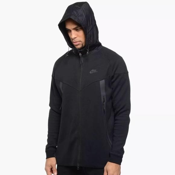 afbb991e956 Nike Jackets & Coats | Tech Fleece Bonded Windrunner Hoodie Jacket ...